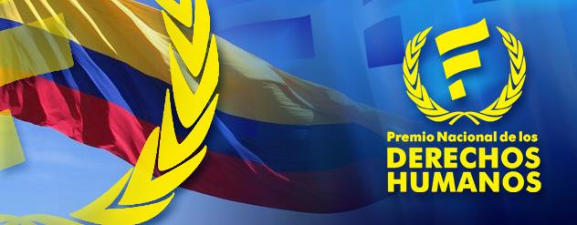 Premio Nacional Derechos HUmanos Colombia